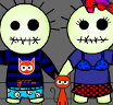 Bad Guy & Girl Dress Up